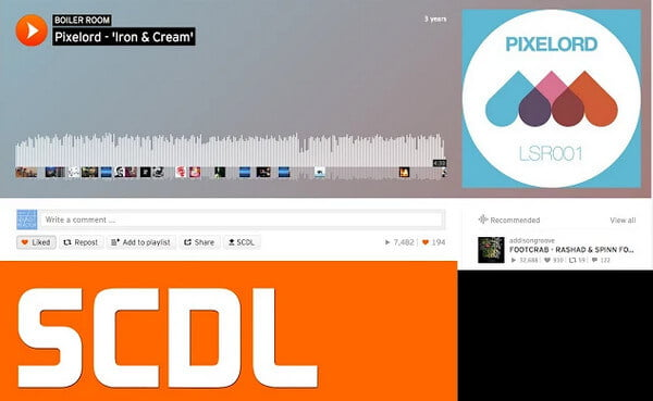 SCDL SoundCloud Downloader