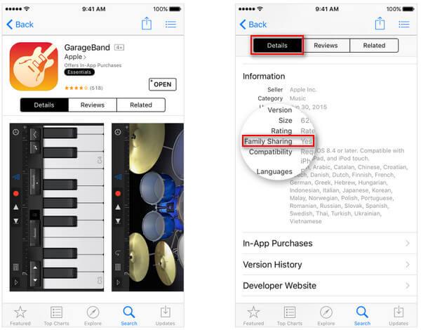 Zaznacz aplikacje, które można udostępniać