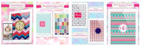 Εφαρμογή Zedge Wallpapers - Monogram Lite
