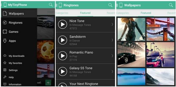 Εφαρμογή Zedge Ringtone - MyTinyPhone