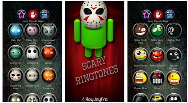 Εφαρμογή Zedge Ringtone - Scary Ringtones