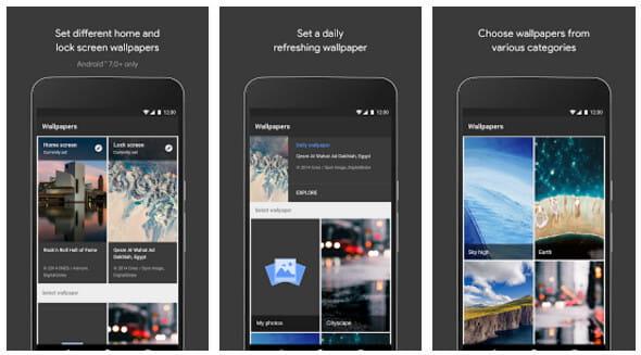 Εφαρμογή Zedge Wallpapers - Wonderwall