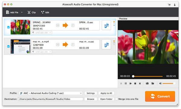 Aggiungi audio sorgente