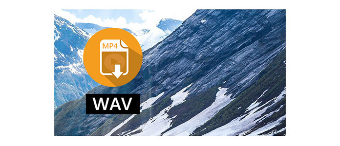 how to change mp4 to wav