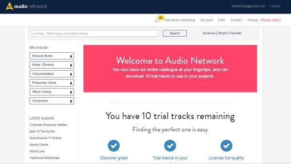 Συνδεθείτε στο Δίκτυο ήχου