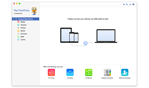 BD Software Toolkit per Mac - Mac FoneTrans