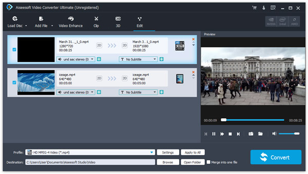 Video Converter Ultima interfaccia