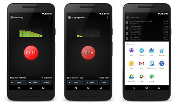 Intelligente Voice Recorder