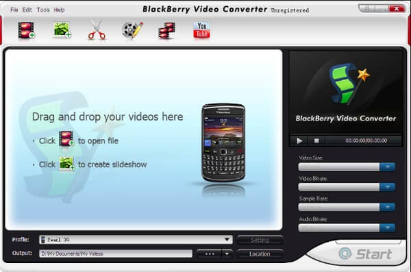 BlazeVideo BlackBerry Video Converter