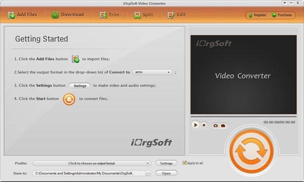 iOrgSoft BlackBerry Video Converter
