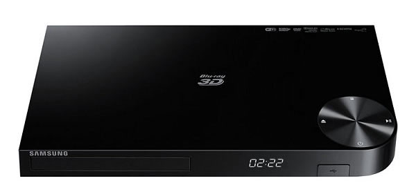 Samsung BD-F5900 3D Blu-ray Player
