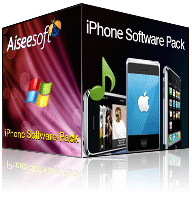 Aiseesoft iPhone Software Pack boxshot