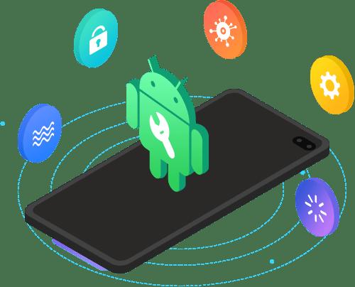Correggi il telefono Android rotto