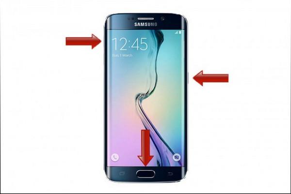 Hard reset Samsung Galaxy