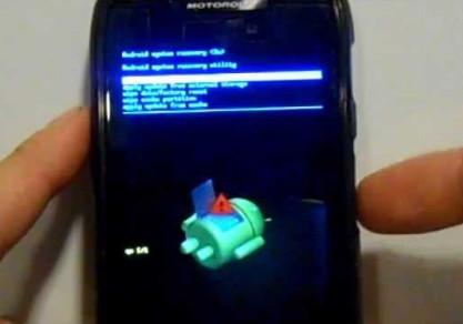 Tryb odzyskiwania Motorola