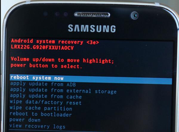 Tryb odzyskiwania Samsung