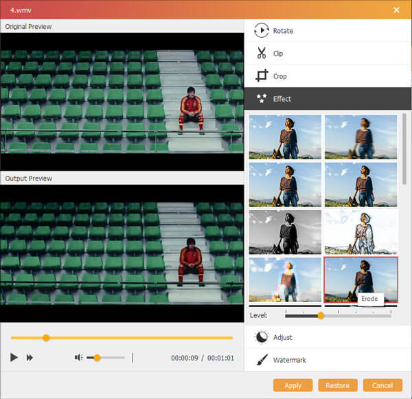Cool Video Effects To Create Special Video File