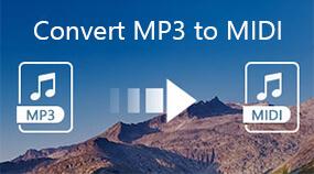 將MP3轉換為MIDI
