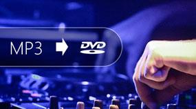 Converti file musicali MP3 su DVD