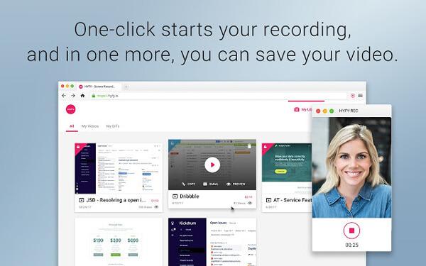 Videoregistratore schermo HYFY
