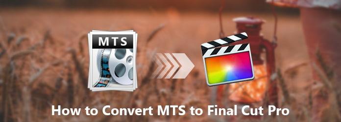 Da MTS a Final Cut Pro