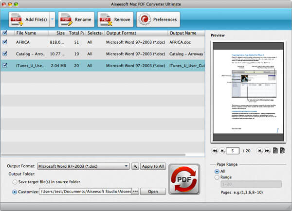 Convert Office files to PDF format using WSS and MOSS. Free download.