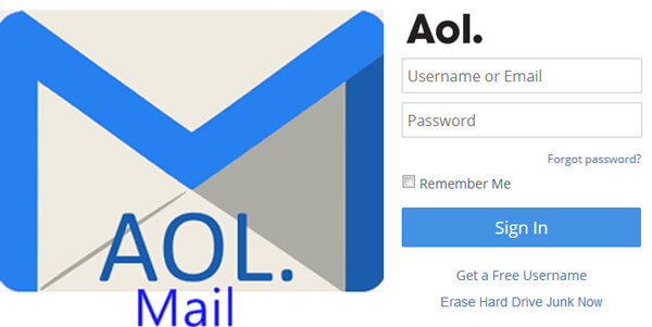 Launch AOL Emails