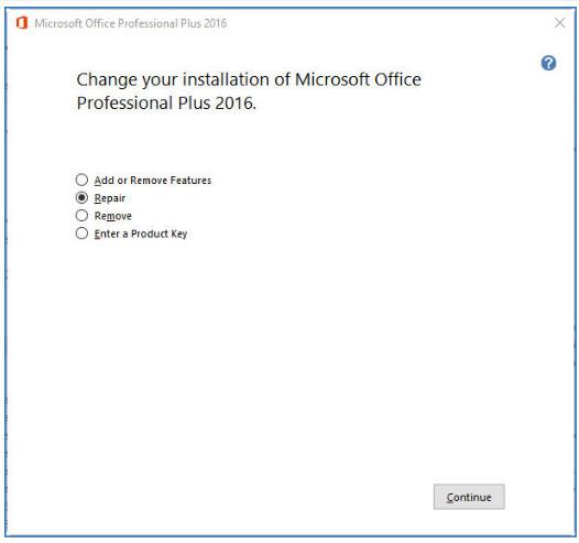 Επιδιόρθωση Excel