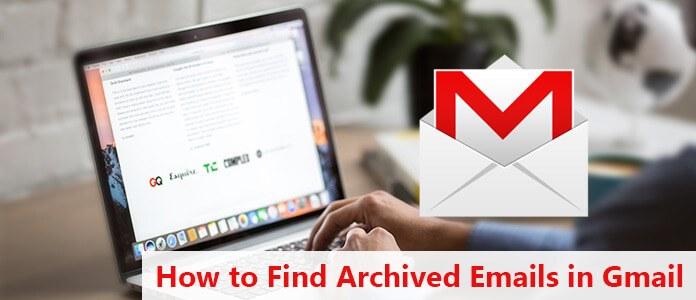 Zoek gearchiveerde e-mails in Gmail