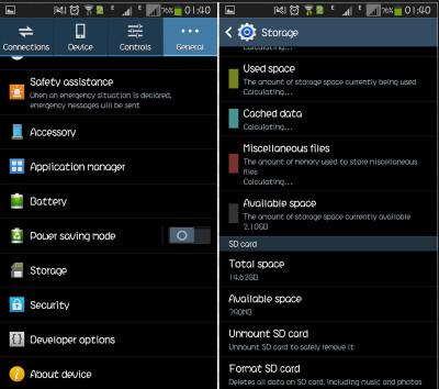Sformatuj kartę SD na Androidzie