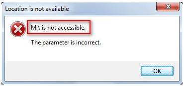 Messaggio di errore della scheda Micro SD