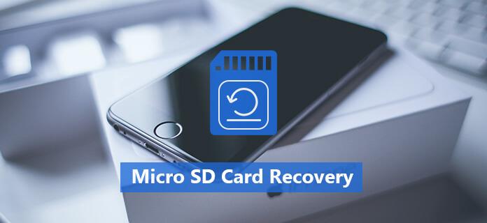 Ripristino della scheda micro SD