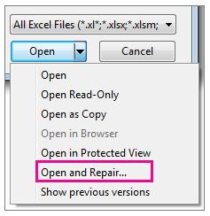 Ripara Excel