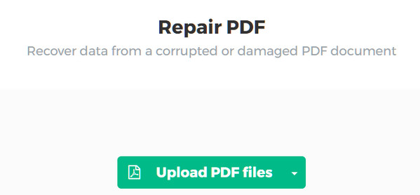 Ripristina PDF online