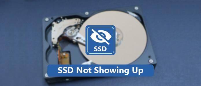 SSD nie wyświetla się