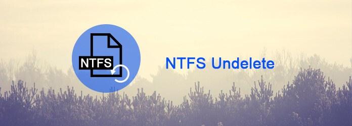 Αναίρεση διαγραφής NTFS