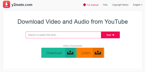 YouTube Video Downloader Y2