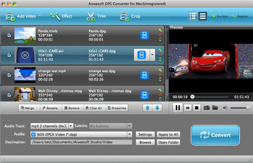 Aiseesoft DPG Converter for Mac 6.2.20 full