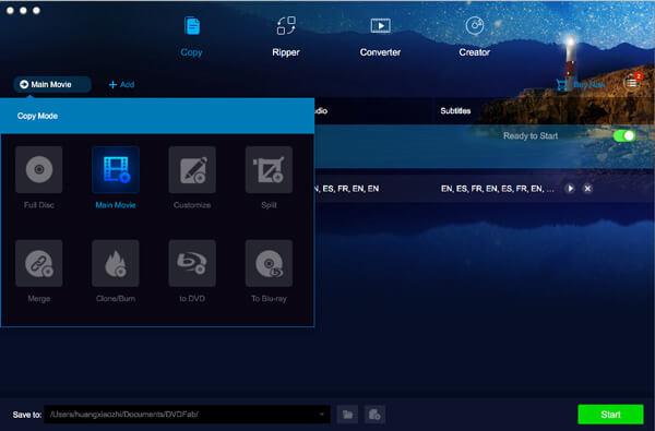 DVDFab HD Decrypter για Mac