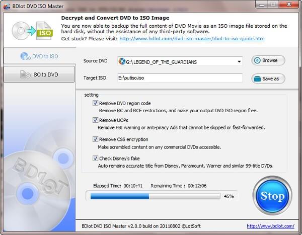 BDlot DVD Master