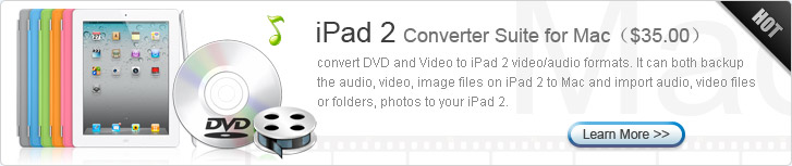 iPad 2 Converter Suite for Mac