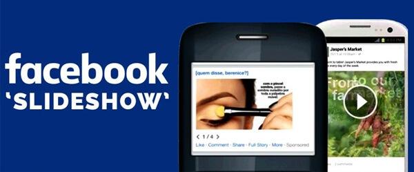 Διαφημίσεις διαφανειών Facebook