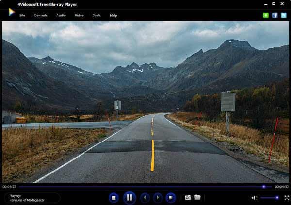 4Videosoft免費藍光播放器