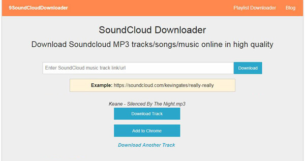 scaricare mp3 da soundcloud online