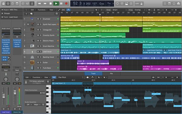 Logic Pro di Apple