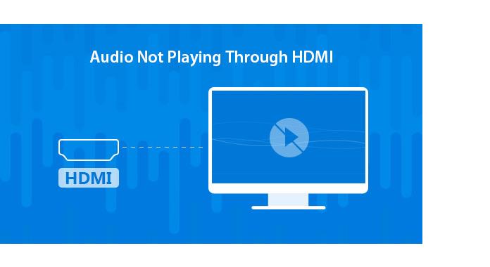 Δεν ακούγεται ήχος μέσω HDMI