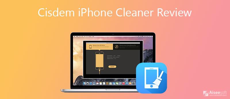 Recensione del detergente per iPhone Cisdem