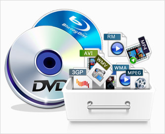 Convert DVD to Video/Audio Files