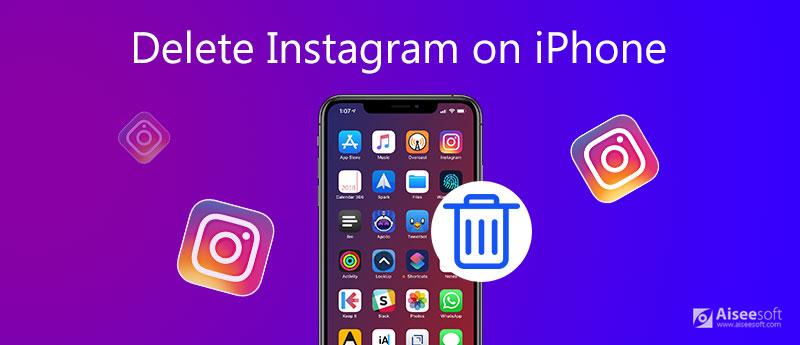 Odstranit Instagram na iPhone