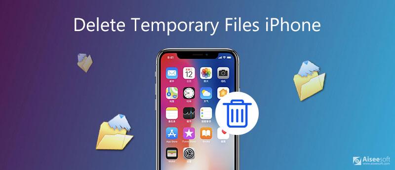 Elimina file temporanei iPhone
